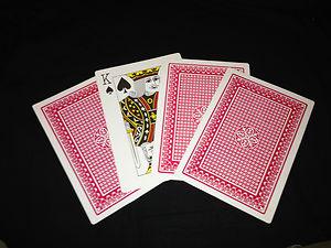 MAGIC PARADE OF KINGS JUMBO CARD ILLUSION