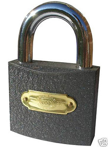 MAGIC ESP LOCK / MENTAL MAGIC / CORRECT KEY [LARGE PADLOCK 63mm]