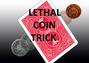 LETHAL COIN TRICK [10p to 1p] [10 Pence Transforms to 1 Pence]