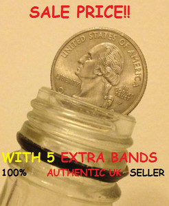 COIN IN BOTTLE / FOLDING COIN (Quarter Dollar/ 25cent)