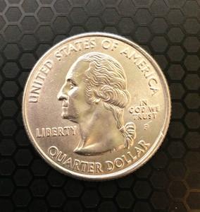 BITTEN AND RESTORED Coin DAVID BLAINE MAGIC (Silver Snack) (AMERICAN QUARTER)