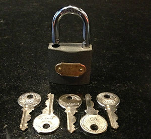 MAGIC ESP LOCK with 5 keys!