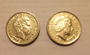 Double Sided Coin 5p