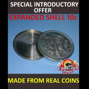 expanded coin Shell Australian 10c