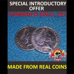 AUSTRALIAN EXPENDED COIN SHELL 20c