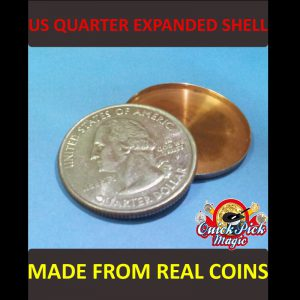 US QUARTER DOLLAR EXPANDED SHELL COIN