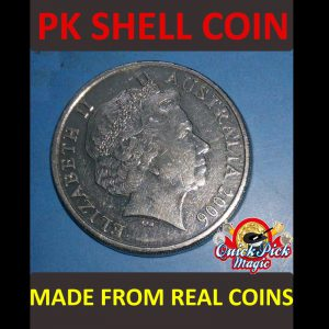 AUSTRALIAN 10cent PK COIN SHELL