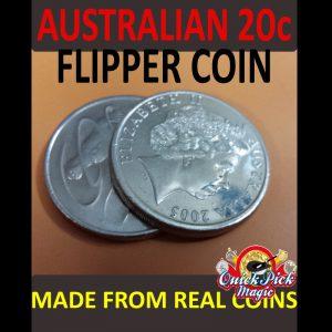 20c Australian Flipper coin