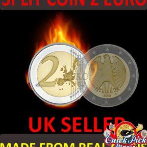 European Coin thru Bag