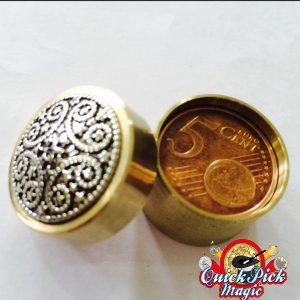 Coin Thru Brass Box mini 5c